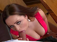 Классный секс с толстой секретаршей