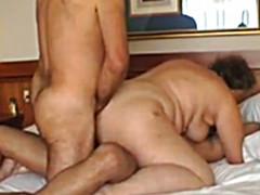 Мужик выебал с другом жирную бабу